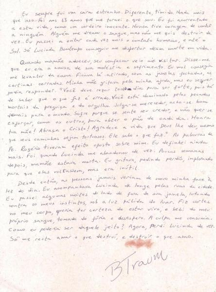 Carta de Traum