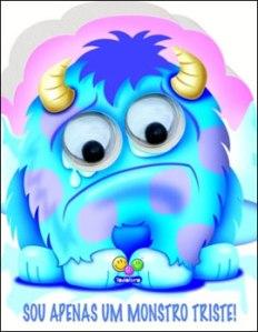 monstro triste